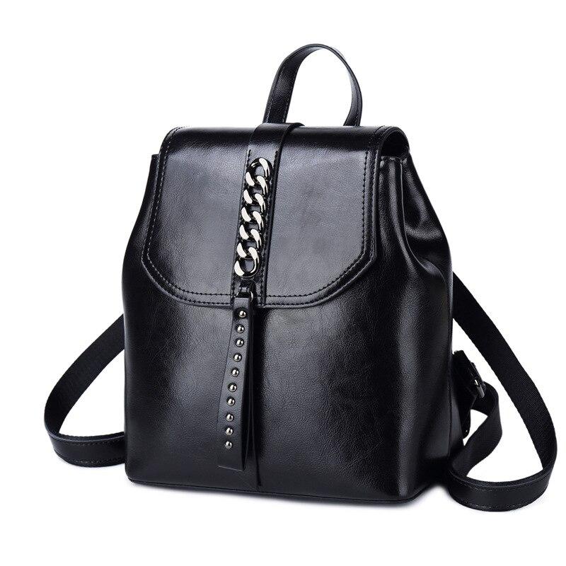 MZORANGE Luxury Fashion Women Shoulder Bag Backpack Female Genuine Leather Ladies Backpack Travel Bag Women Bagpack 2019MZORANGE Luxury Fashion Women Shoulder Bag Backpack Female Genuine Leather Ladies Backpack Travel Bag Women Bagpack 2019