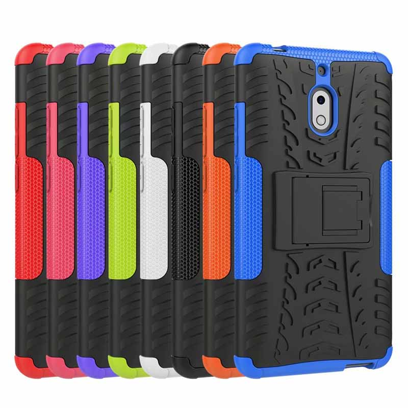 Shockproof Cover <font><b>TPU</b></font> + PC Matte Armor Bumper Protective Back cell Phone Case For <font><b>Nokia</b></font> 2.2 2.1 7.1 <font><b>6.1</b></font> 5.1 plus 3.1 8 6 5 3 2 1 image