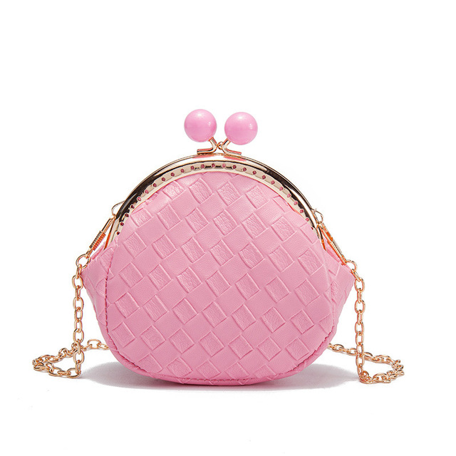 Raged Sheep Girls Coin Purse Change Wallet Kids Bag Coin Pouch Baby Wallet Money Holder Lovely Kid Gift PU Weaving Bags