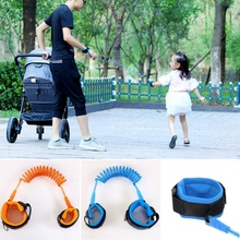 Toddler Baby Kids Safety Walking Harness Child Leash Anti Lost Wrist Link Traction Rope 1.5m 2m 2.5m