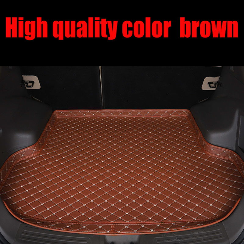 Custom fit car Trunk mats for <font><b>Lexus</b></font> <font><b>NX</b></font> 200 200T <font><b>300h</b></font> NT200 NX200T NX300H <font><b>F</b></font> <font><b>Sport</b></font> RX waterproof leather carpet rugs image