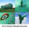 3000*700 cm Inflável Foguete mostrar fábrica de pipa de kite kaixuan
