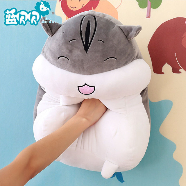 Animal Dolls Stuffed Toys Plush Pillow Give Vent To A Hamster