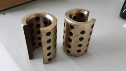 JDB OP 30*45*63.5  oilless impregnated graphite brass bushing straight copper type, solid self lubricant Embedded bronze Bearing m4 male m 25 30 35 40 45 50 55 60 mm x m4 6mm female brass standoff spacer copper hexagonal stud spacer hollow pillars