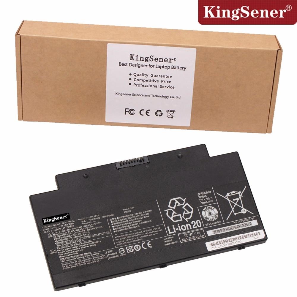 KingSener New FPCBP424 Laptop Battery for Fujitsu LifeBook FPCBP424 FMVNBP233 10.8V 45Wh 4170mAh Free 2 Years Warranty 10 8v 5800mah original new fpcbp179 battery for fujitsu lifebook s6420 s6421 s6410 s6520 s6510 s7210 s7220 fmvnbp160 fpcbp179ap