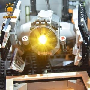 Image 4 - LIGHTAILING LED Bộ 10188 Ngôi Sao Chiến Tranh Loạt Ngôi Sao Chết Khối Xây Dựng Bộ Đèn Tương Thích Với 05035 35000 81037