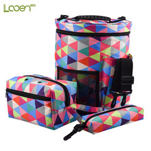 3 Pcs/set Large Capacity Woolen Yarn Storage Bag Organizer Tote For Crocheting & Knitting Case Portable Holder