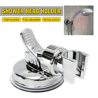 Xueqin Shower Mounting Brackets Bathroom Adjustable Shower Head Holder Rack Bracket Suction Cup Wall Mounted Replacement Holder