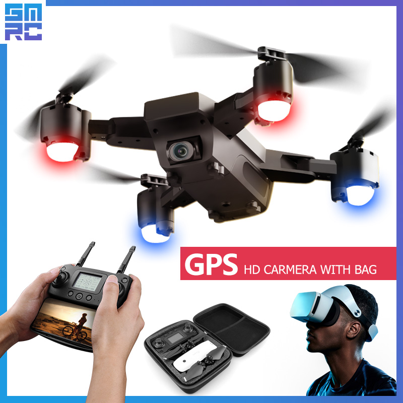 SMRC S20 wifi drone quadrirotor HD caméra avec GPS suivez-moi FPV RC quadrirotor FPV suivez-moi x pro fpv course Dron hélicoptère