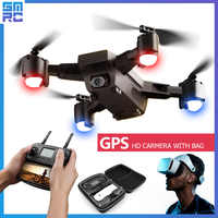SMRC S20 wifi drone quadrocopter HD מצלמה עם GPS בצע לי FPV RC Quadcopter FPV בצע לי x פרו fpv מירוץ Dron מסוק