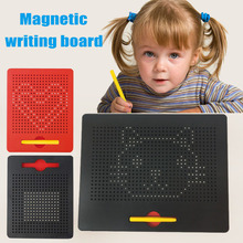Magnetic Ball Doodle Pad Sketch Tablet Kids Drawing Board Learning Playing Toy Gift YJS Dropship 3795105p replacement 3 7v 4000mah li polymer battery for 7 10 inch macbook samsung acer sony apple tablet pc