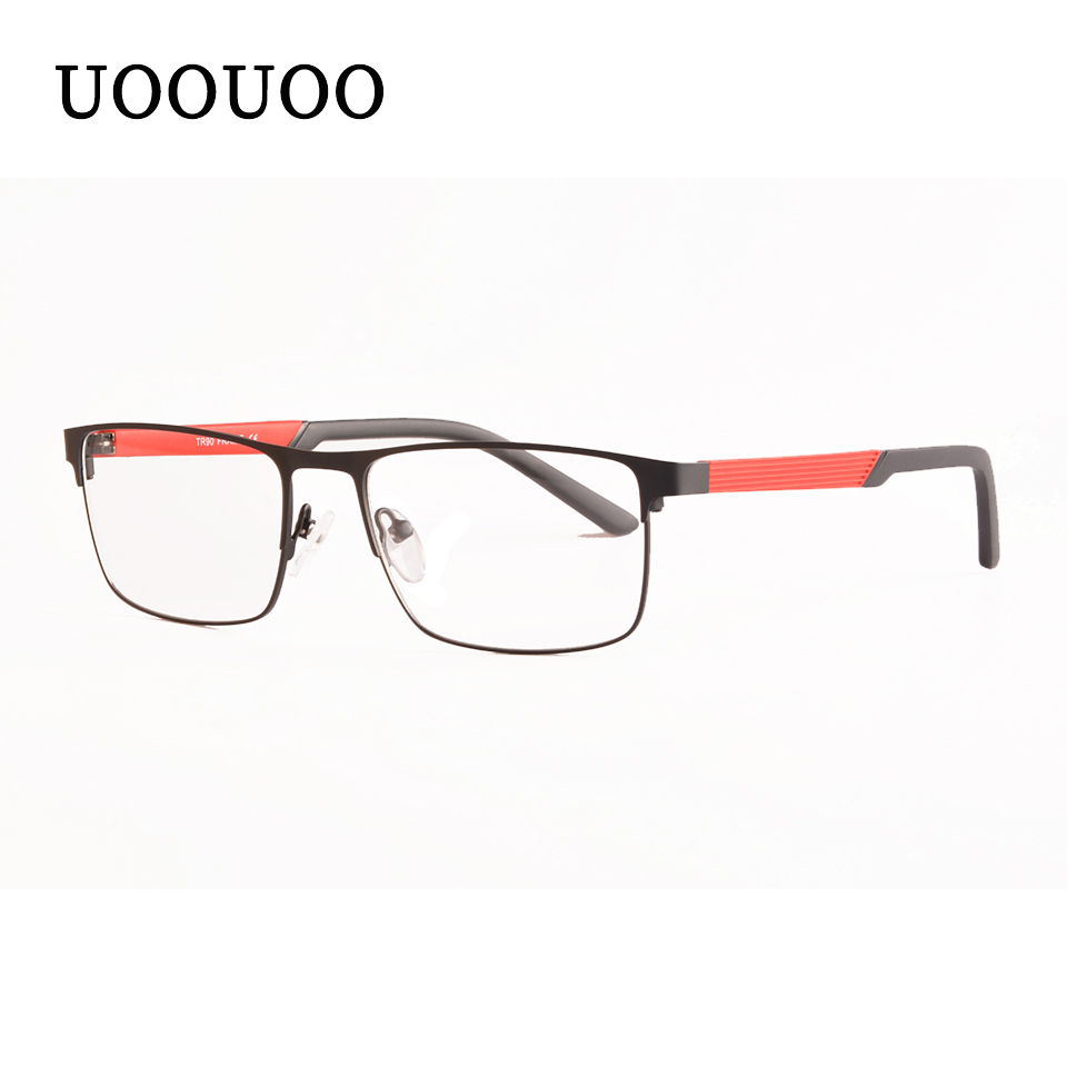Men Optical Eyewear Customized Prescription Glasses Quality Full Rimmed Stainless Steel Eyeglasses Presbyopia Myopia Glasses