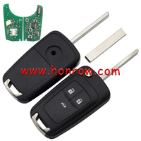 For Honrow Bui 3 button remote key with 433mhz PCF7941 Chip