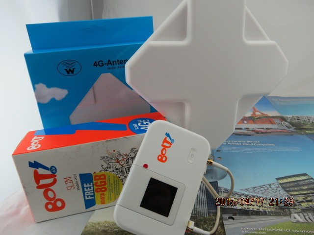 35dbi TS9 Антенна + Толщиной батареи 3560 мАч + Разблокирована Huawei E5372s 4G TDD 2300 МГЦ LTE Cat4 Mobile Hotspot Wi-Fi Модем маршрутизатор