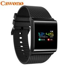 Cawono IP67 умный браслет Водонепроницаемый смарт часы X9 Pro OLED watches blood pressure шагомер Цвет Экран фитнес браслет трекер сердечного ритма Мониторы Шагомер умный Браслет умные часы для xiaomi mi band 2