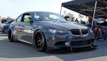 Designed For BMW M3 E92 E93 Of The LB Style Carbon Fiber Front Lip/ Fender Flare/Trunk Spoiler