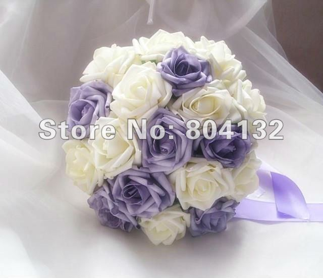 High Quality Elegant Pe Foam Artificial Simulation Flower Bridal ...