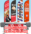 Free ship Graphic custom printing for Feather flag banner graphic replacement advertising, promotion, celebration event