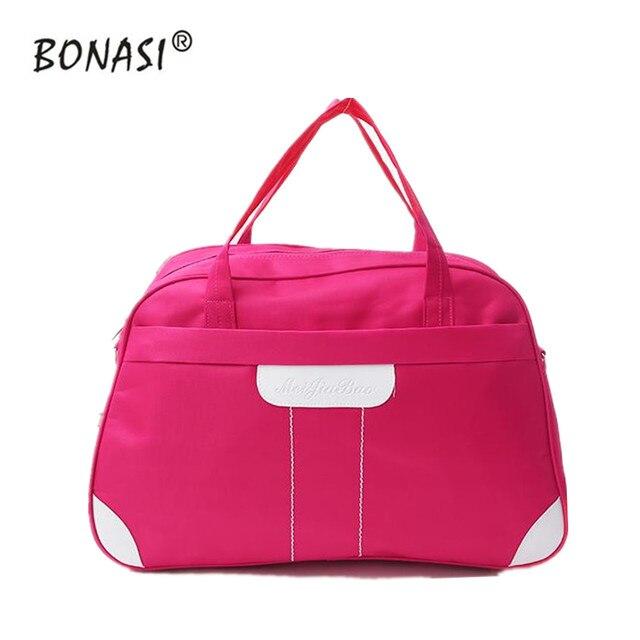 2016 de La Moda bolso portable Plegable del recorrido Impermeable bolsa de gran capacidad de Bolsa de Equipaje de Viaje