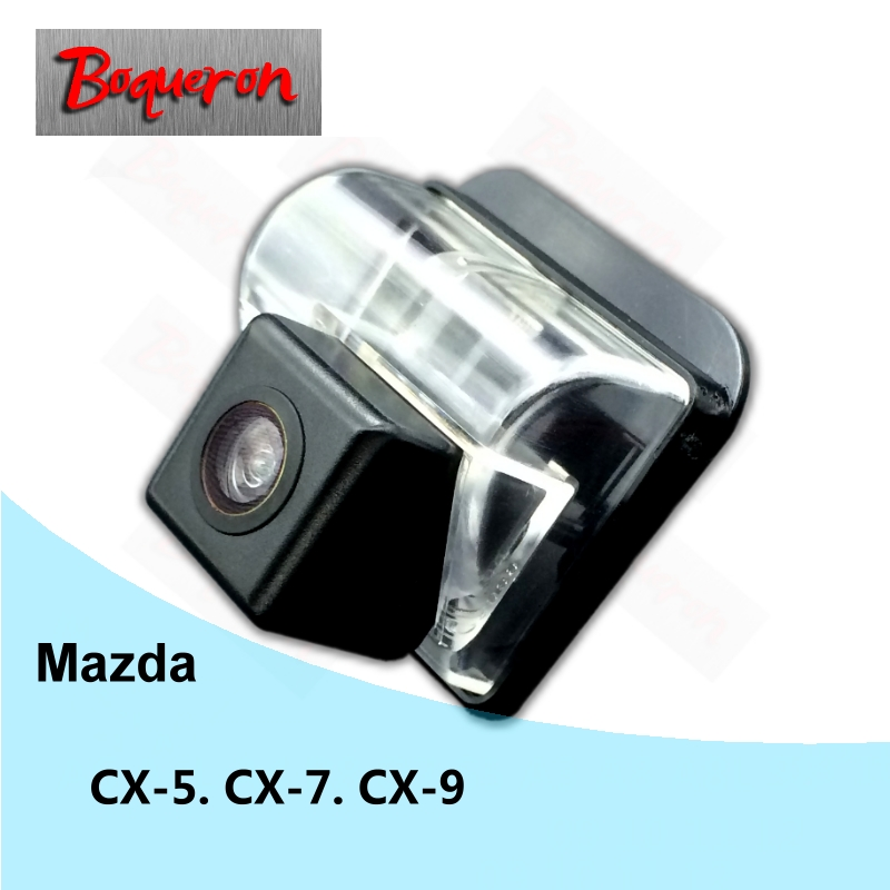 BOQUERON for Mazda CX-5 CX-7 CX-9 CX 5 CX 7 CX 9 Reverse Parking Backup Camera HD CCD Night Vision Car Rear View Camera NTSC PAL цены