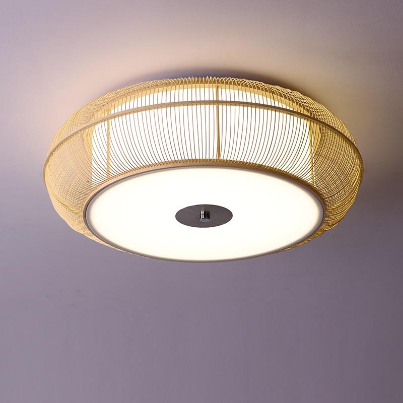 US $129.0 |Nowoczesne doprowadziły montażu podtynkowego oświetlenie sufitowe oprawy światła azji japoński styl światło sufitowe Zen oświetlenie