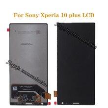 """소니 xperia 10 플러스 lcd + 터치 스크린 디지털 컨버터 교체 소니 10 플러스 lcd 수리 부품에 대 한 6.5 """"원래 디스플레이"""