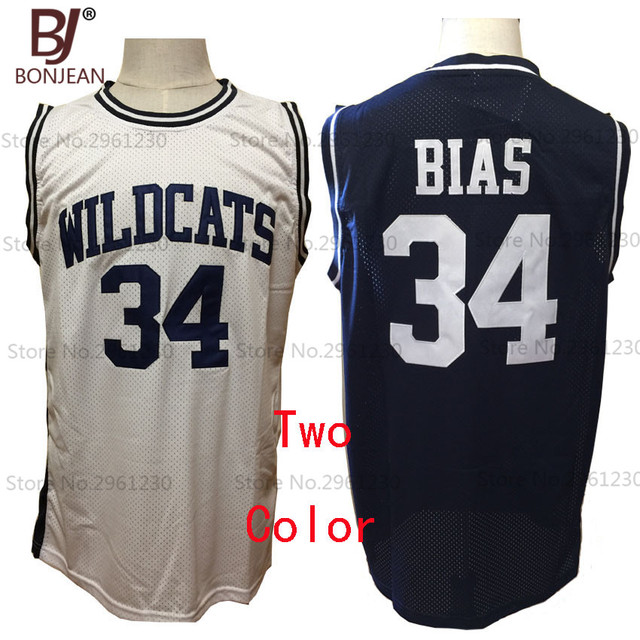 cheap len bias 34 maryland wildcats throwback stitched high school basketball jerseys 2 color shirts - Basketball Pictures To Color 2