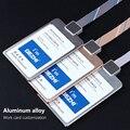 Оригинальные металлические визитницы DEZHI 100*70 мм  визитницы на заказ