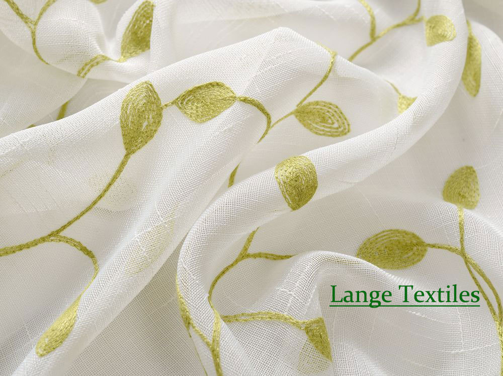 Country Curtains For Living Room Beach Decorating Ideas Free Shipping Cotton And Linen Embroidered Voile Tulle ...