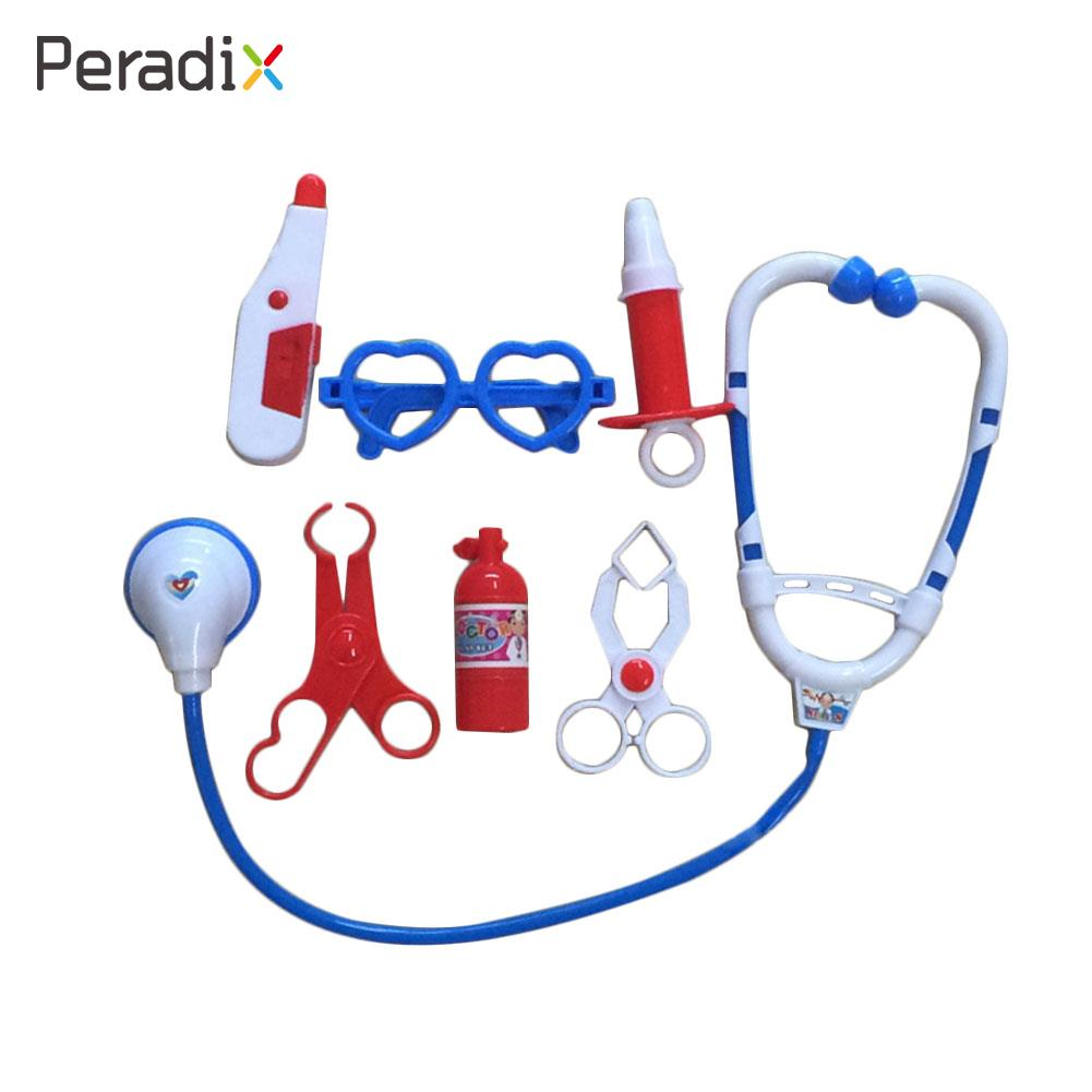 Kids Educational Pretend Doctor Nurse Role Play Medical Kit Roleplay Toy Set ...