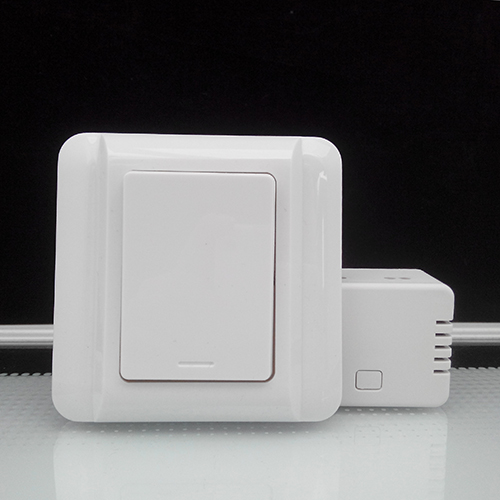Augreener Wall Switch Self Powered Wireless Remote Control Light No Cabling For Installation Battery-free Cordless Switch