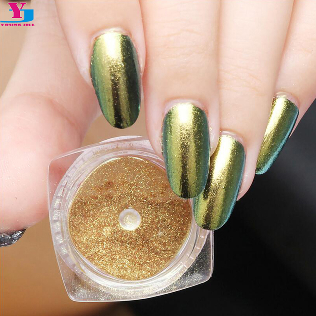 New Arrival Gel Nail Polish Shell Glitter Powder Magic Mirror Effect ...