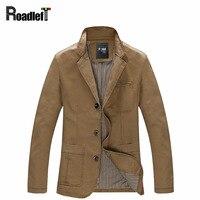 2016 Autumn Men Casual Blazers Cotton Denim Jacket Coat Men S Slim Fit Army Green Khaki