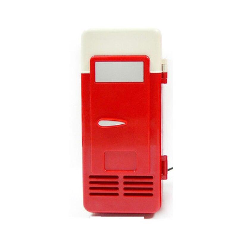 USB mini fridge office table fridge cool and heating 5V