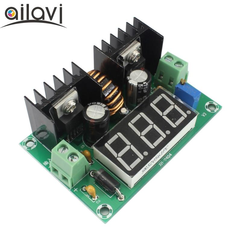 200W LED Display Voltage Regulator Converter XL4016 DC-DC 4V-40V To 2V~36V Power PWM Modulation Voltage Buck Module 8A 10pcs lot lm338k lm338 voltage regulator 5a 1 2v to 32v