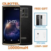 OUKITEL K7 Мощность 2G Оперативная память 16G Встроенная память мобильного телефона Android 8,1 MT6750T Octa Core 6,0 «HD + 13.0MP + 2.0MP 10000 mAh смартфон с отпечатками пальцев