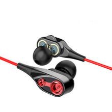 Cable earphone headset 3.5mm with Microphone Stereo 4 Colors for Samsung Millet Mobile Computer