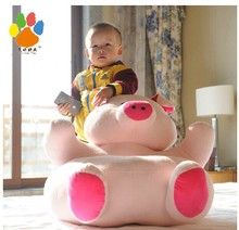 new creative lovely pig sofa toy cartoon pink pig sofa doll fat pig sofa gift about 60x60cm