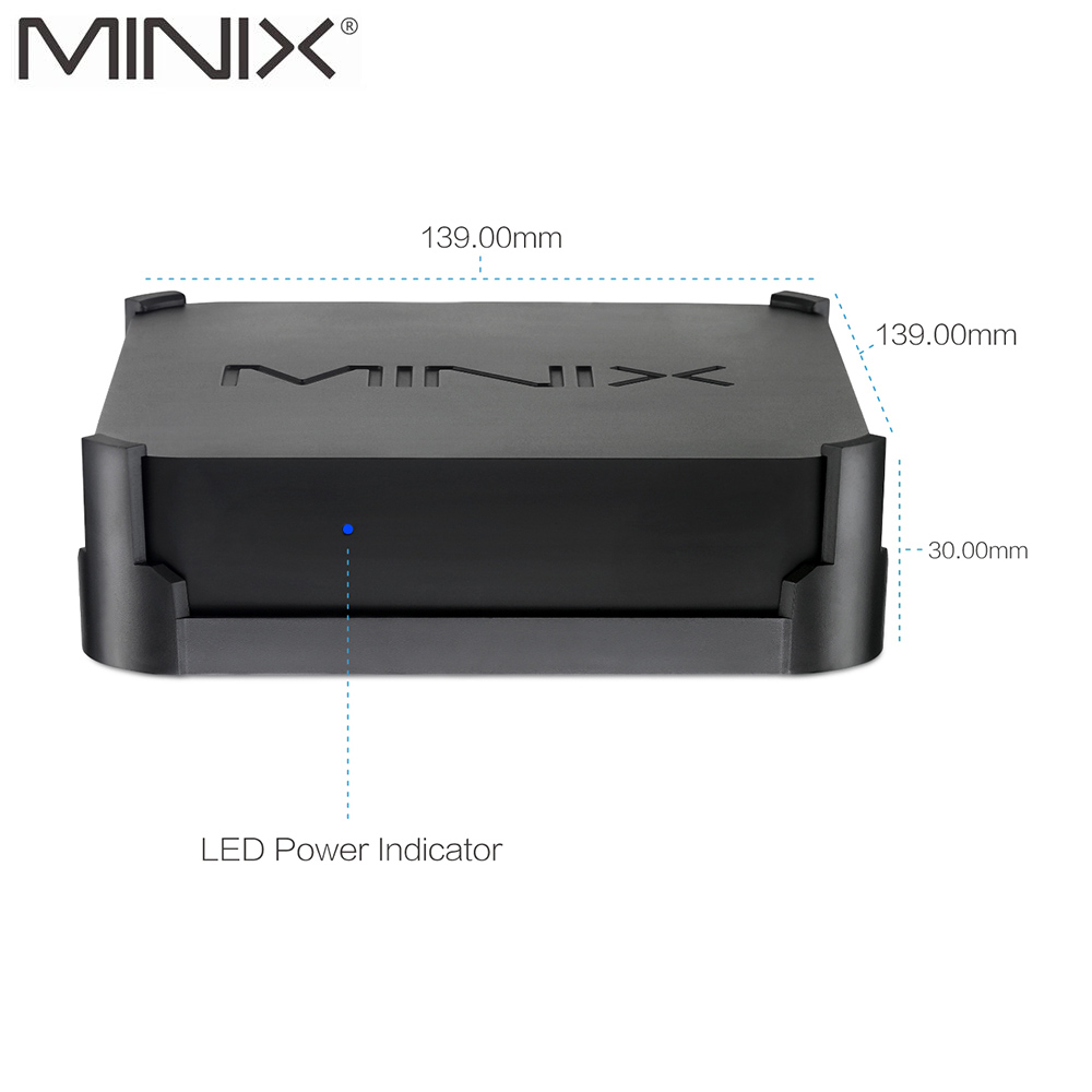 Оригинальный Новый MINIX NEO N42C 4 MINI PC официальный Windows 10 Pro 64 bit Мини PC 4G/32 г Gigabit WI FI USB 3,0 Pentium N4200 MINI PC