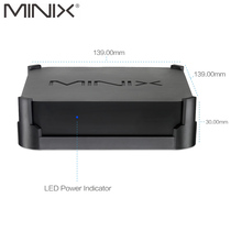 Original New MINIX NEO N42C-4 TV BOX Official Windows 10 Pro 64-bit MINI PC 4G/32G Gigabit WIFI USB3.0 Pentium N4200 TV BOX