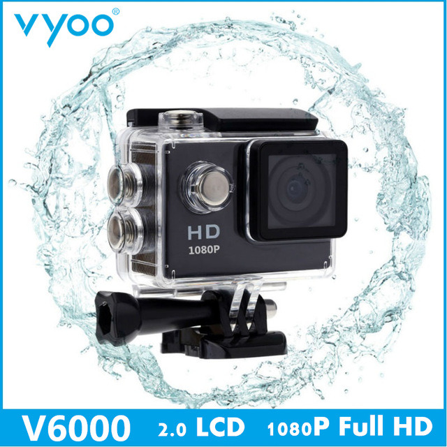 Hot Sale vyoo Brand V6000 2 0 inch 1080P HD Waterproof font b Camera b font