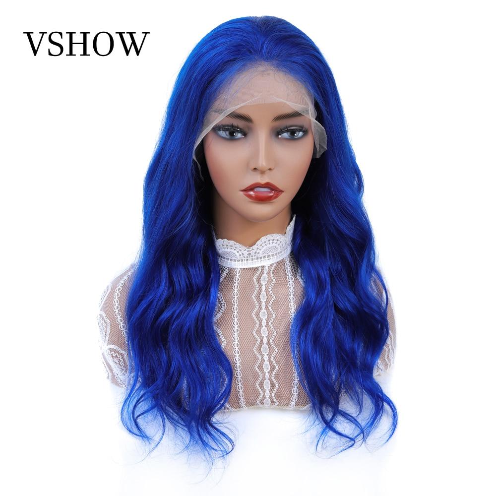 13x4 Colored Human Hair Wigs For Black Women VSHOW 150 Density Remy Human Hair Wig Brazilian