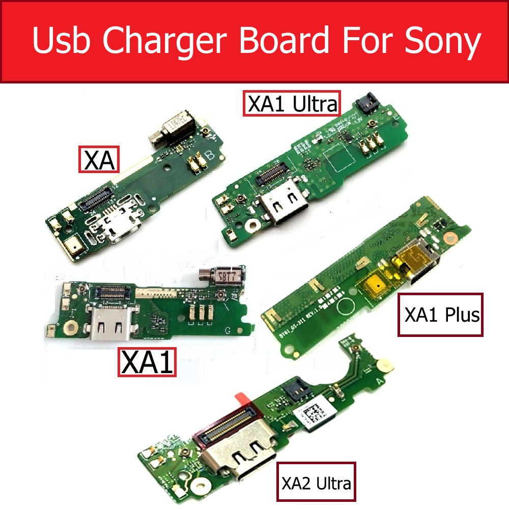 Charger USB Board For Sony Xperia XA/XA1/XA1 Ultra/XA2 Ultra/XA1 Plus G3121/G3112/G3421/G3412/F3111 Charging Port Dock Module