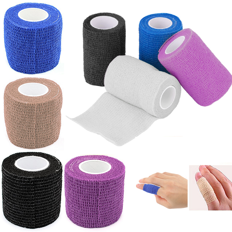 First-Aid-Tool Gauze-Tape Elastic Bandage Medical-Health-Care Self-Adhesive Emergency