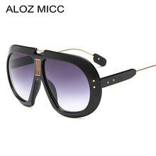 ALOZ MICC New Oversized Square Sunglasses Women Men Brand De