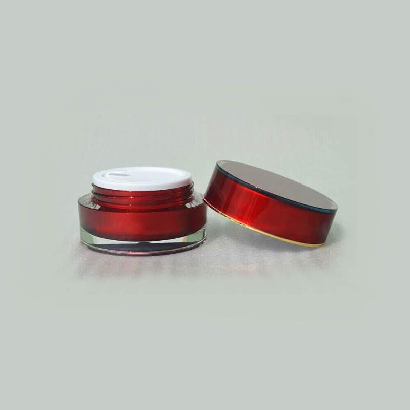 15g ACRYL cilinder vorm crème fles zalfpotje Cosmetische Jar - Huidverzorgingstools - Foto 2