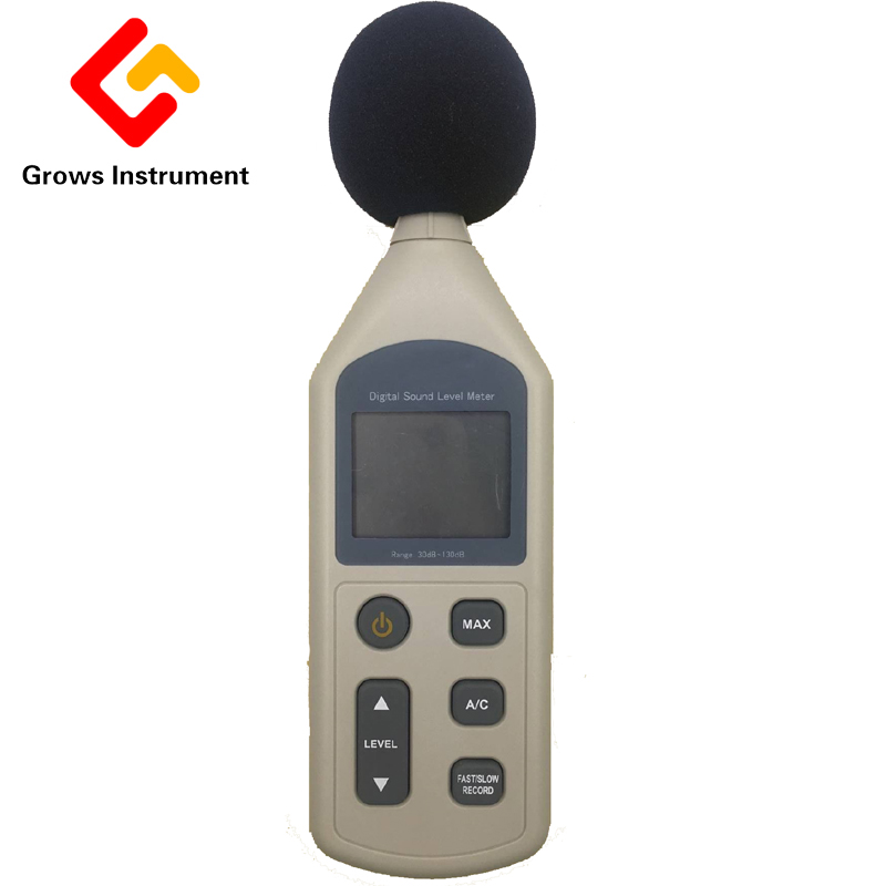 Digital Sound Level Meter 30-130dB LCD Noise Measuring Instrument Decibel Monitoring Logger Tester optometric economic digital pupillometer cx8 stable quality ce marked accurate measuring pd meter