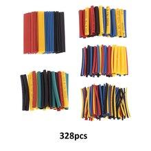 Heat Shrink Tubing 8 Sizes Professional Colorful Polyolefin 2:1 Halogen-Free Tube Sleeving φ1.0-φ14.0