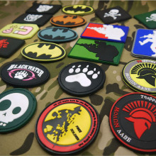 ПВХ ткань нарукавная печать одежда швейная ткань значок 3d Униформа тактический рюкзак персональный боевой дух