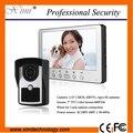 Waterproof samrt Home Interface hands-free 7 inch color video door phone with IR night version IR camera video door phone